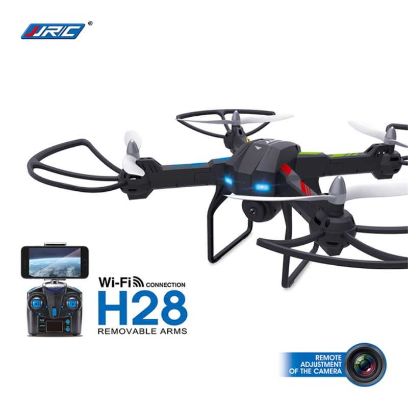 JJRC H28W Wifi FPV With 2.0MP Camera 2.4G 4CH 6Axis One Axis Gimbal RC Quadcopter RTF