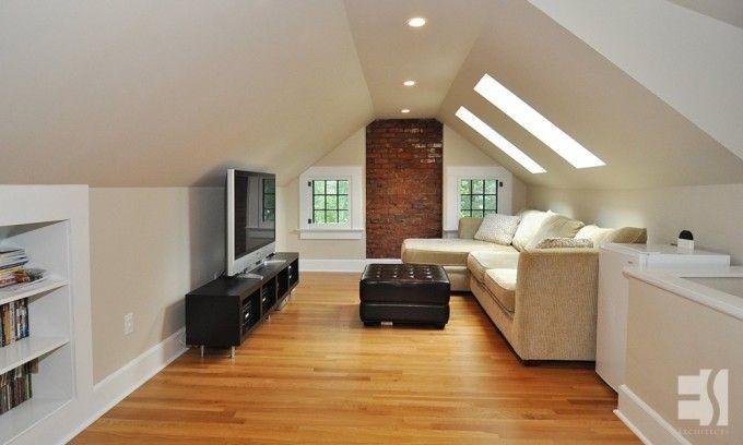 Attic renovation ideas attic renovation garage for Attic remodel ideas