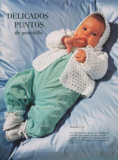 Revista tejer niños, en crochet | Ganchillo, Revista de ganchillo y ...
