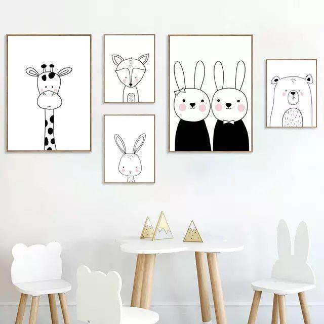 Online Shop Giraffe Hase Bär Fuchs Kindergarten
