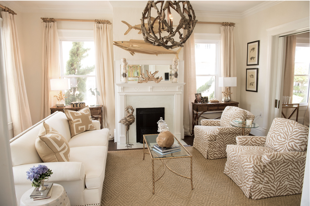 A Beautiful Home In Beaufort Foyer Decorating Beach