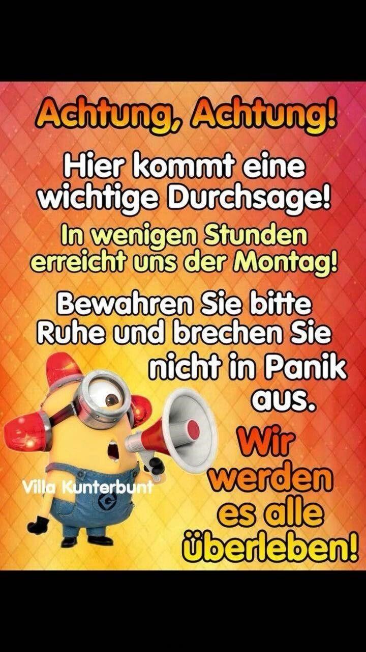 Montag Bilder Lustig Deutsch Montag