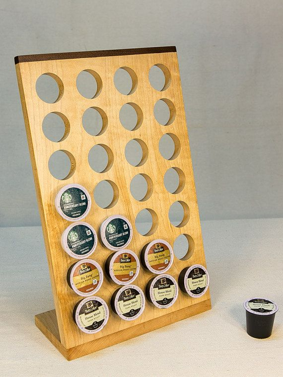 K Cup Holder For Countertop K Cup Organizer By Woodchipandsawdust