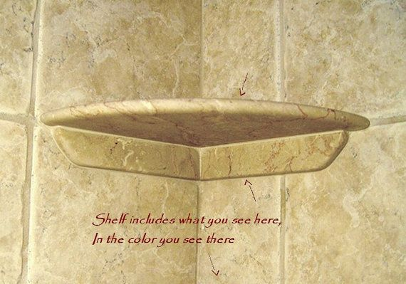 Shower Shelf To Install To Existing Tile After Tile Install Easy To Install Corner Shelf To Your Tile Shower Shelves Tile Shower Shelf Tile Installation