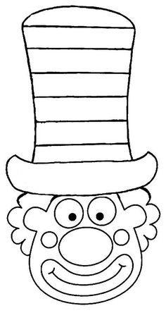 Risultati Immagini Per Clown Malen Basteln Kinder Pinterest