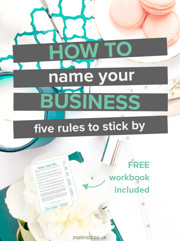 How To Name Your Business 6 Rules To Stick By Hard work