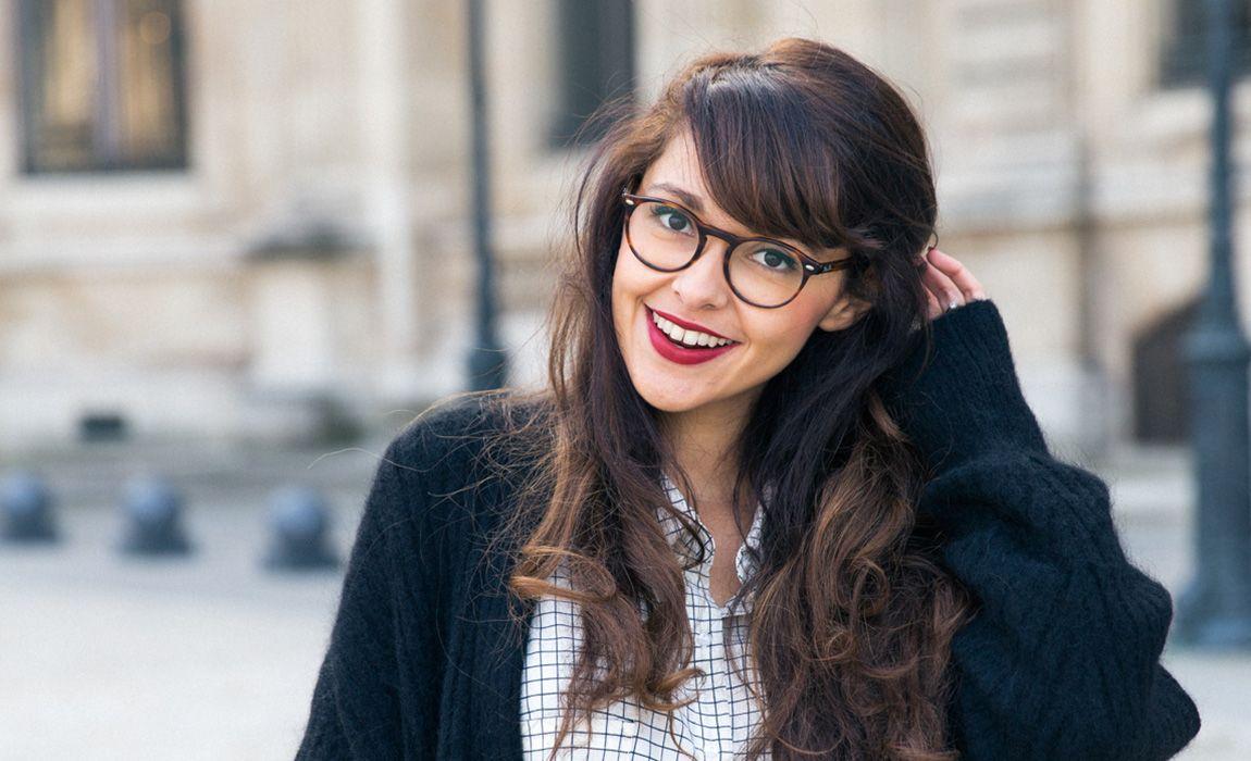 c1a8903539a70e Blog mode Paris 2016   Gals in Glasses   Pinterest   Lunettes ...