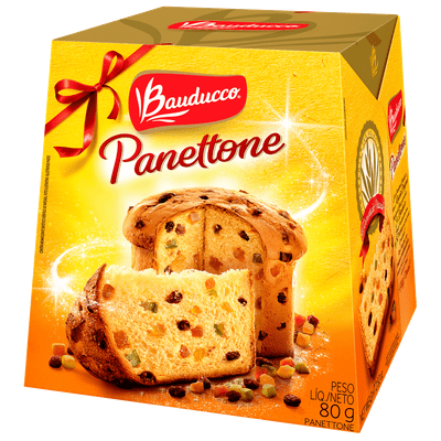 Bauducco Panettone Christmas Tea Party Dessert Bread Christmas Tea