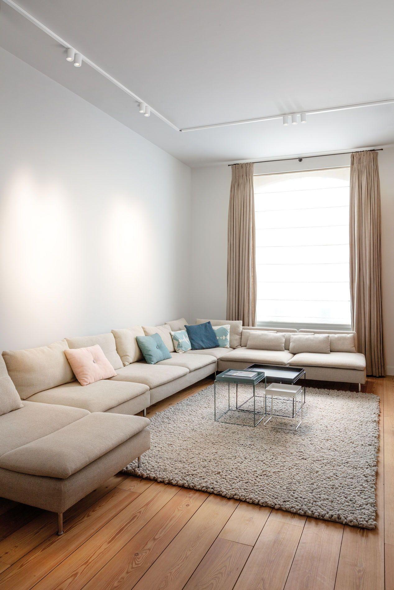 Living Room Lighting Ideas Smart Surface Tubed Suspension Track