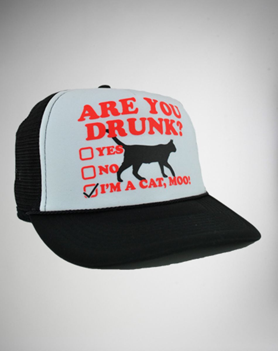 34b89ba77 Are You Drunk?' Trucker Hat | lol | Snapback hats, Baseball hats, Hats