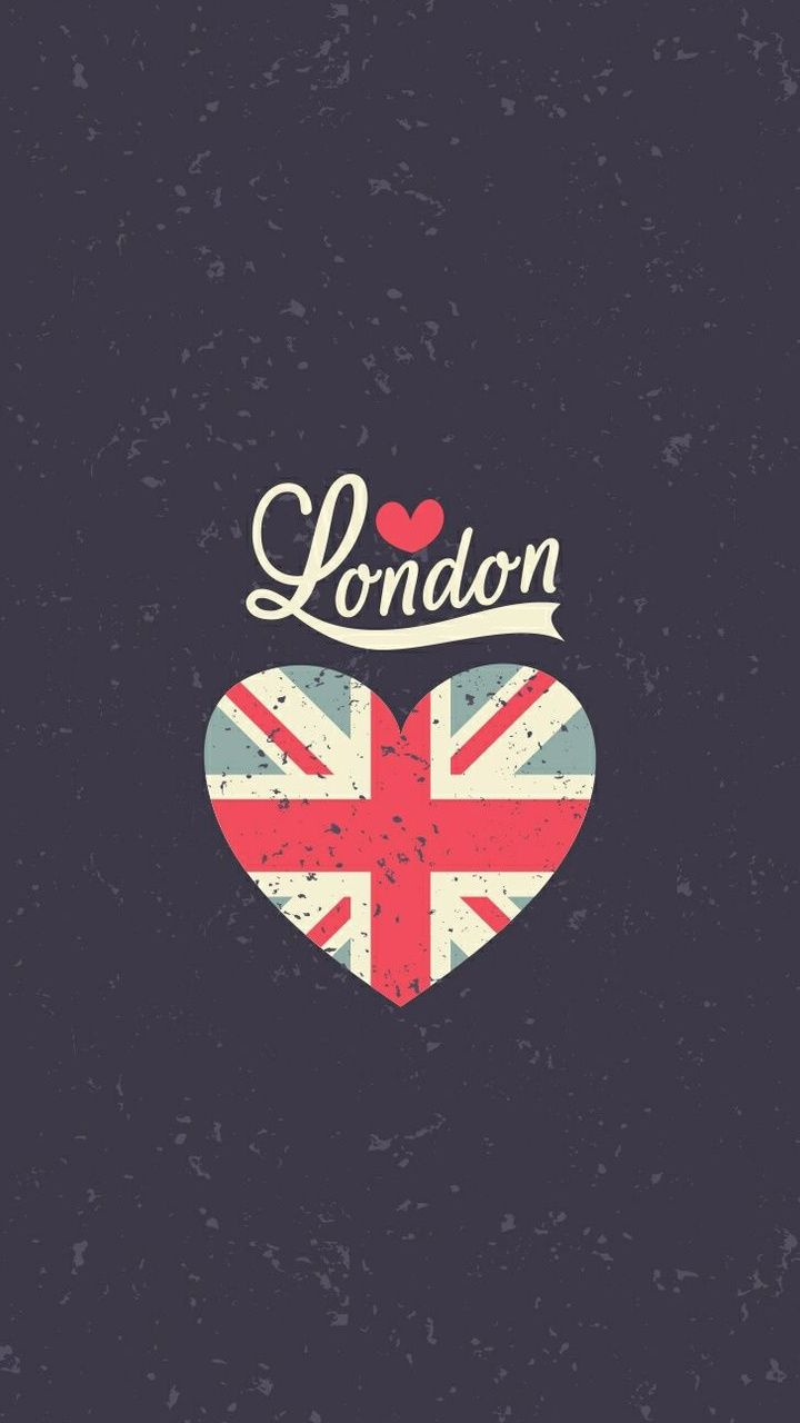 Wallpaper iphone london - London Uk Heart Flag Iphone Wallpapers Vintage Tap Image To Explore More Beautiful Iphone