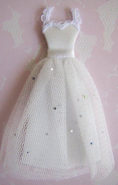 Paper Craft Dresses Embellishments Bridal Wedding Dress Tuile Embellishment For Cards