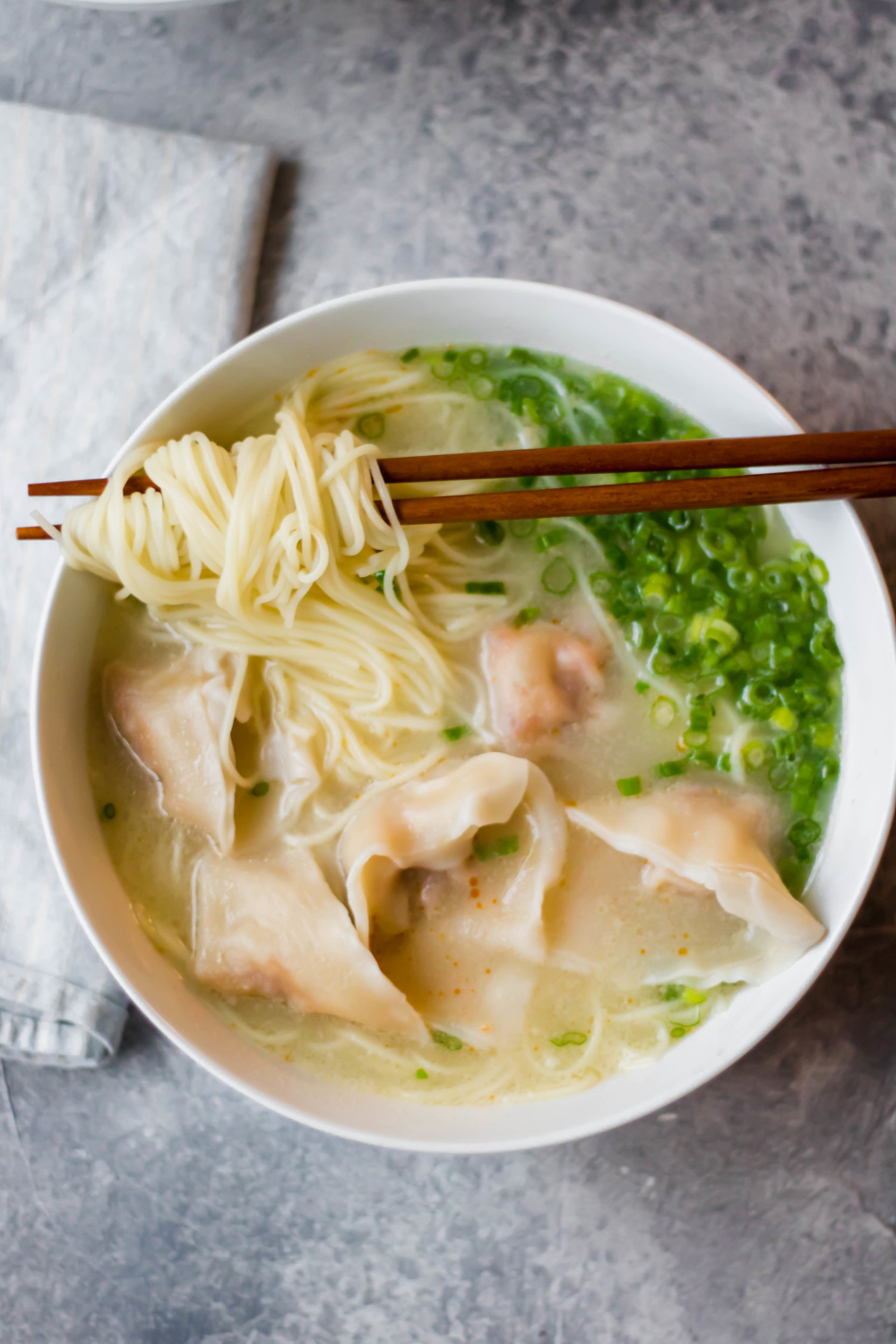 Easy Wonton Noodle Soup Recipe So Much Food Recipe Wonton Noodles Wonton Noodle Soup Noodle Soup Recipes