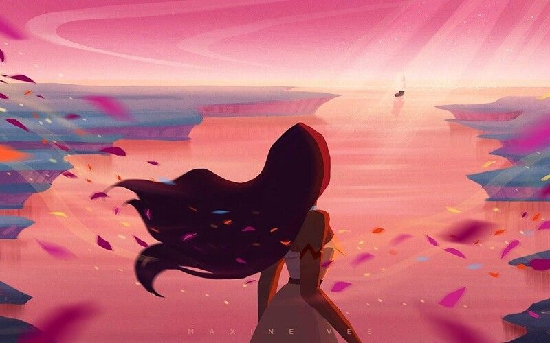 Colors of the Wind, Maxine Vee