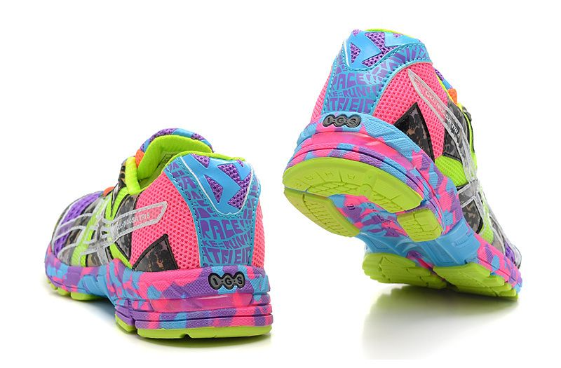 low priced 43407 0d101 canada women asics gel noosa tri 8 purple fluorescent green d74c0 843b0