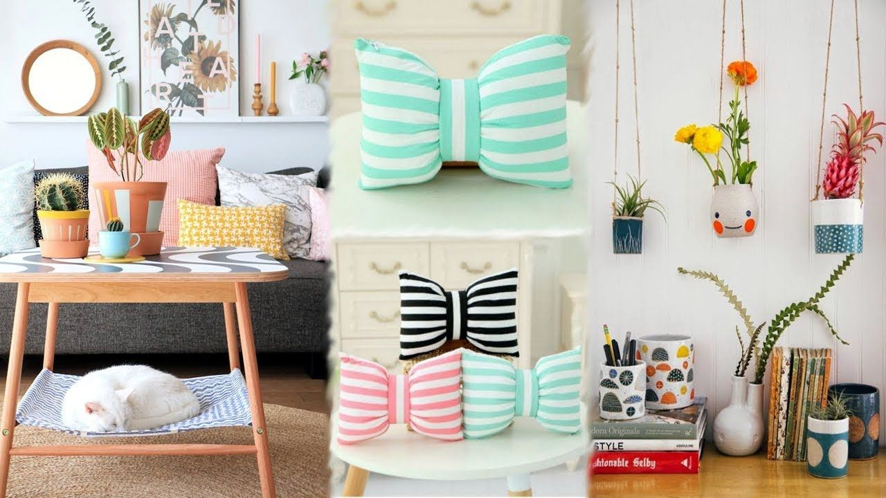 DIY ROOM DECOR 16 Easy Crafts Ideas At Home For Teenagers