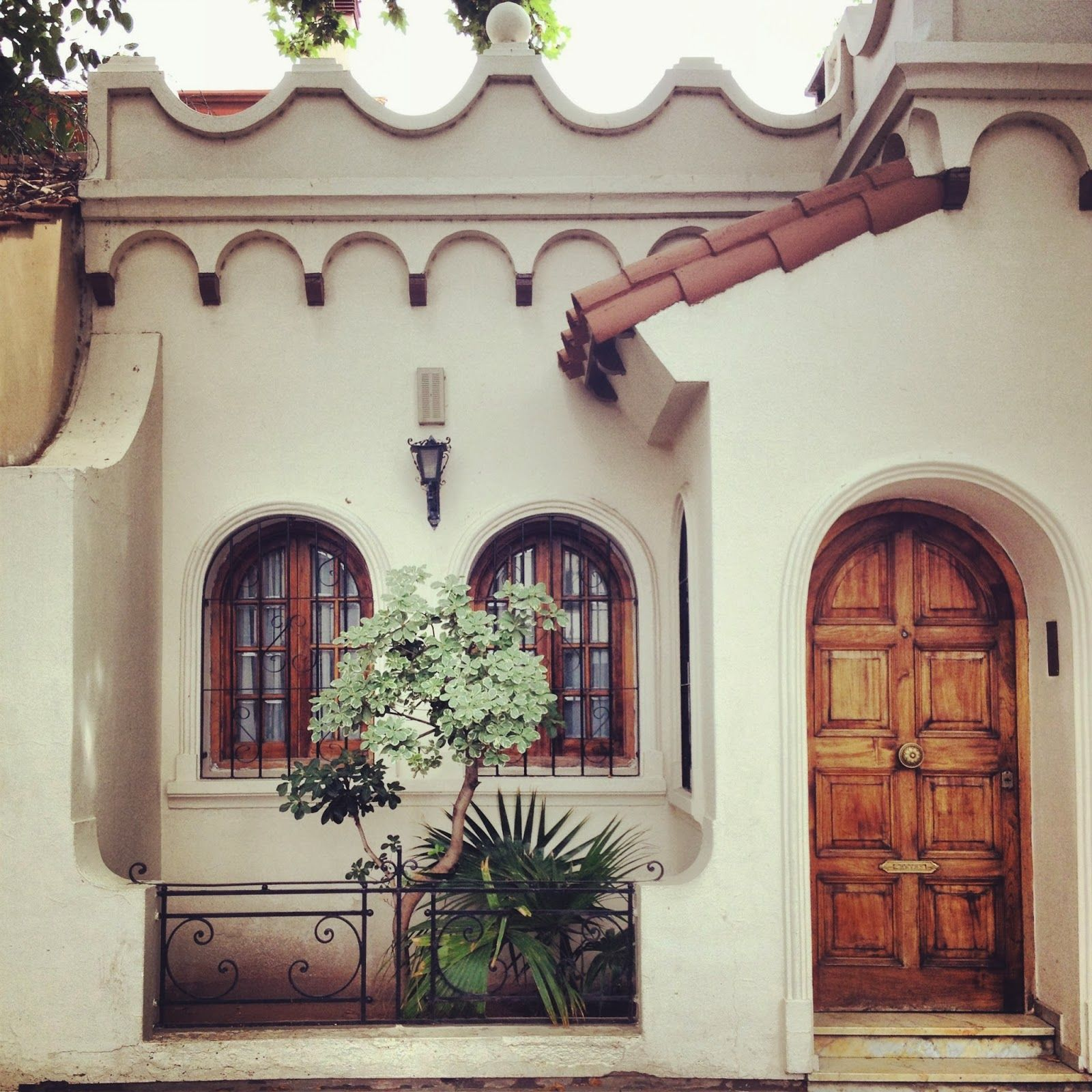 Spanish Hacienda Style Homes: All Things Amber: Little Spanish Houses...