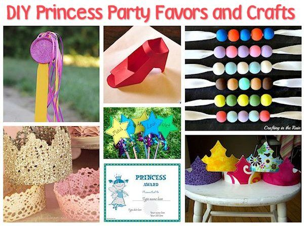 35 Diy Princess Party Ideas All About Family Crafts Princess Diy Diy Princess Party Birthday Party Crafts