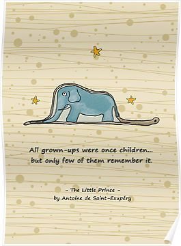 The Little Prince Elephant Inside Boa Constrictor By Scottorz Little Prince Quotes Prince