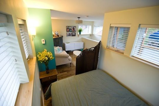 Living In 500 Square Feet Impressive Second Floor  Bedroom Lounge In View 500Squarefoot Small