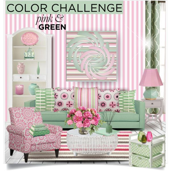 Pin On Pink Green #pink #and #green #living #room #ideas