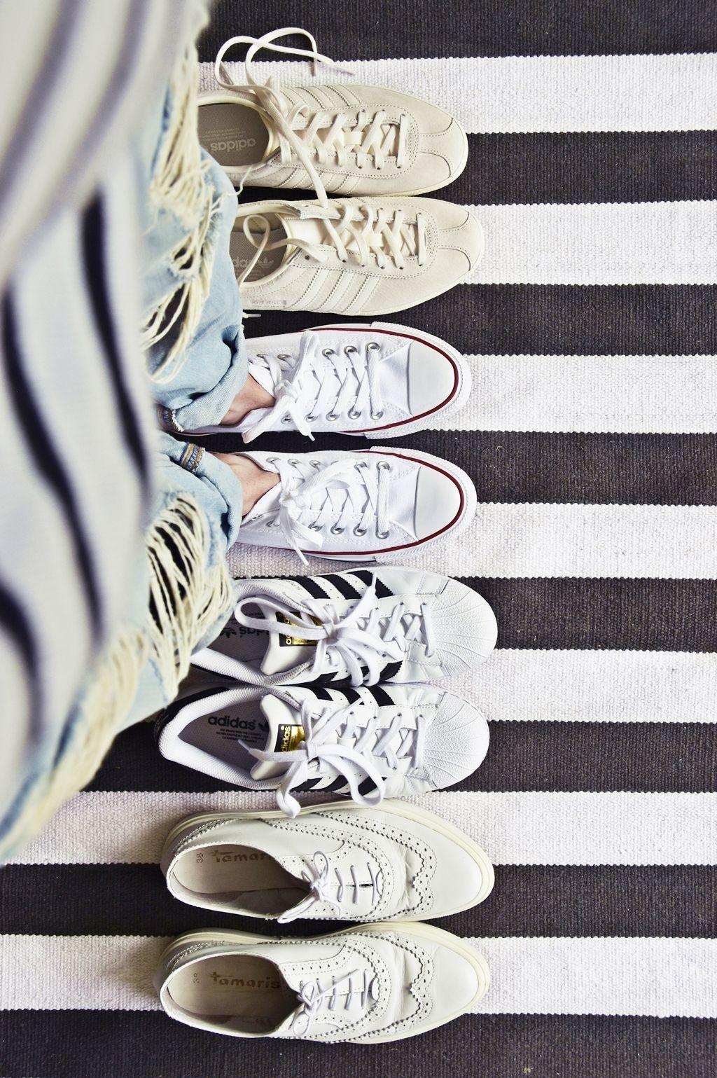 lifehack | 8 Tipps, wie man Schuhe & Sneakers wieder weiß