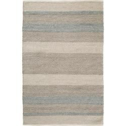 Photo of benuta Naturals Wollteppich Phrena Hellblau 160×230 cm – Naturfaserteppich aus Wolle benuta