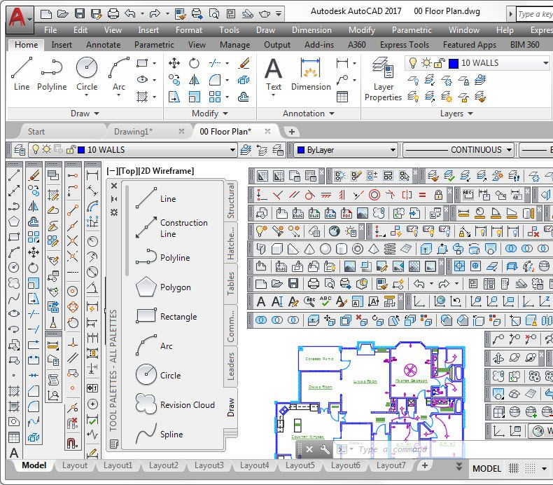 AutoCAD User Interface | DIY | Autocad, Building information