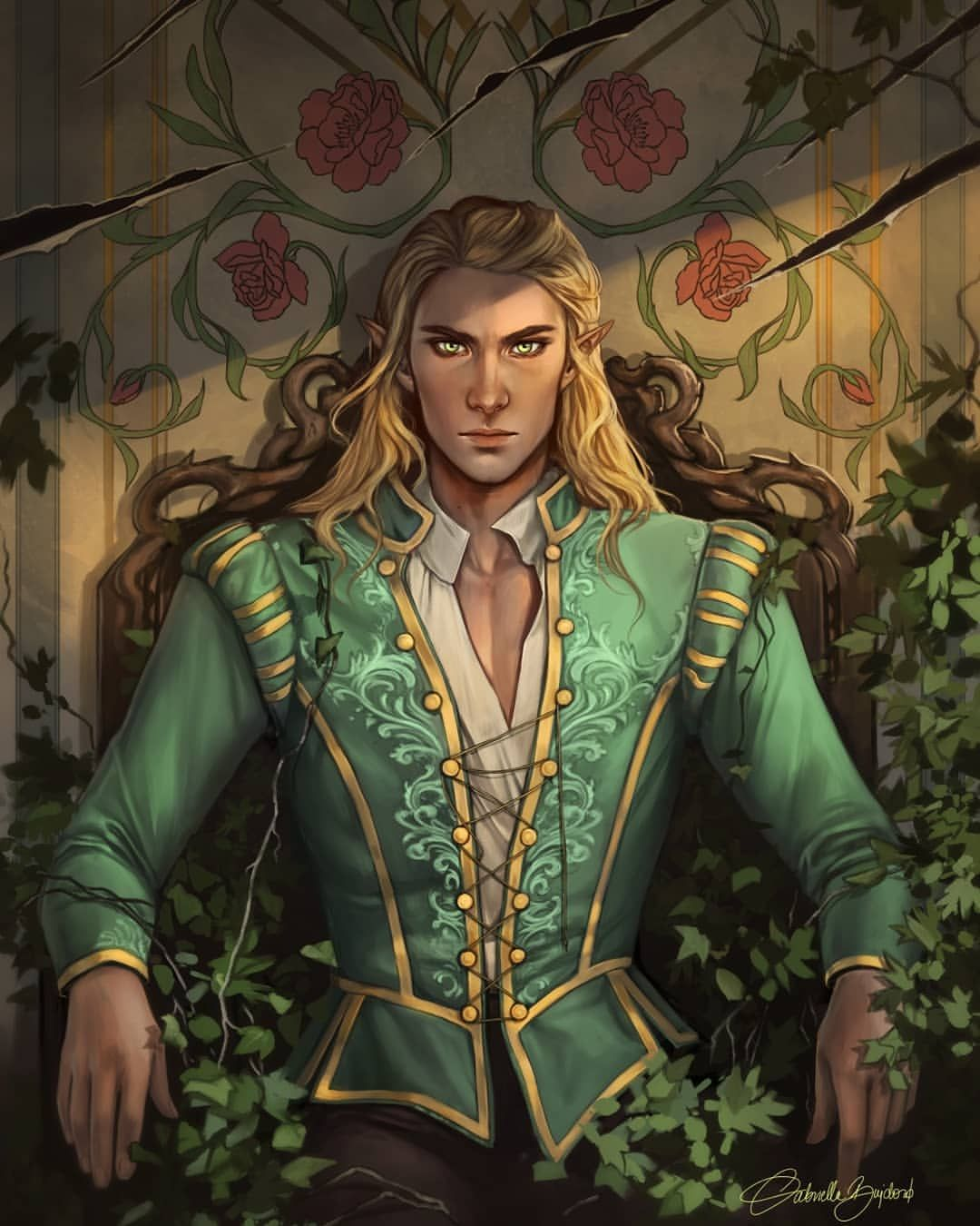 Tamlin This Illustration Was A Part Of Janarunneck S