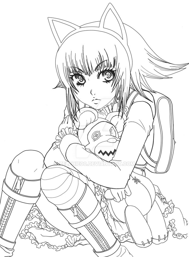 league of legends rumble coloring pages | line art league of legends annie - Google Search ...