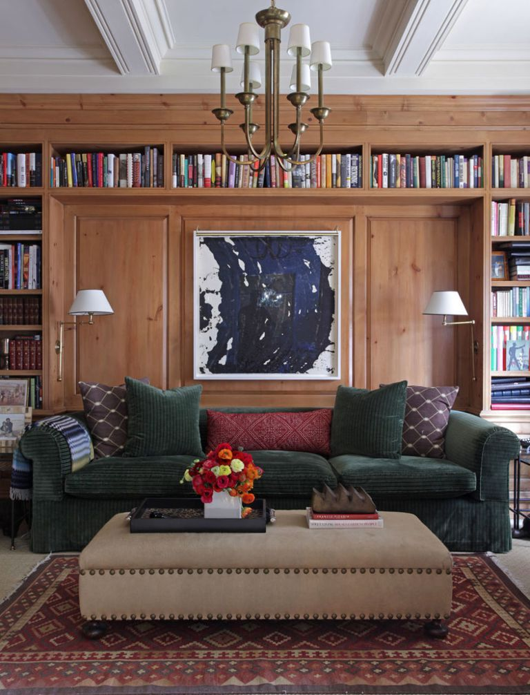 Wood Paneled Library: 45 Examples That Prove Your Books Deserve Attention