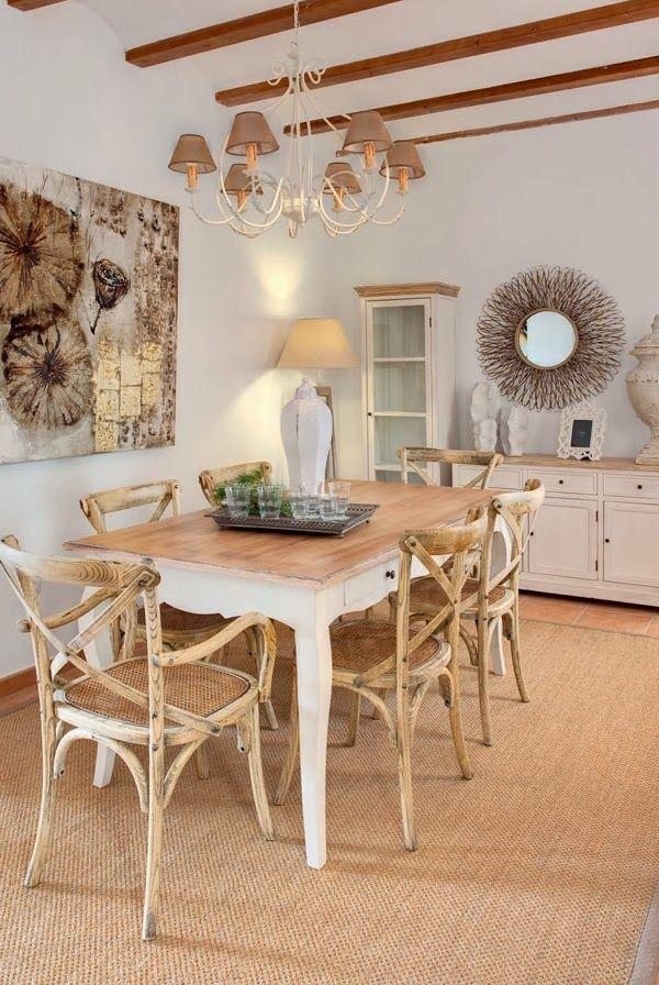 estilo provenzal para el salón | Ideas piso Mercadal | Pinterest ...