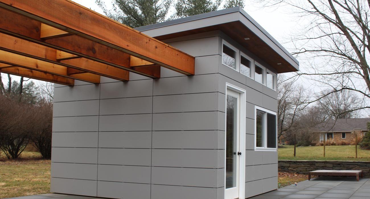 Modern Sheds Building a wood shed, Modern shed