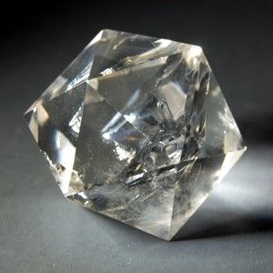 Crystal Quartz Icosahedron To Contemplate The Is Engage In Meditation Upon Divine Element Spirit Ether Symbolic Attributes