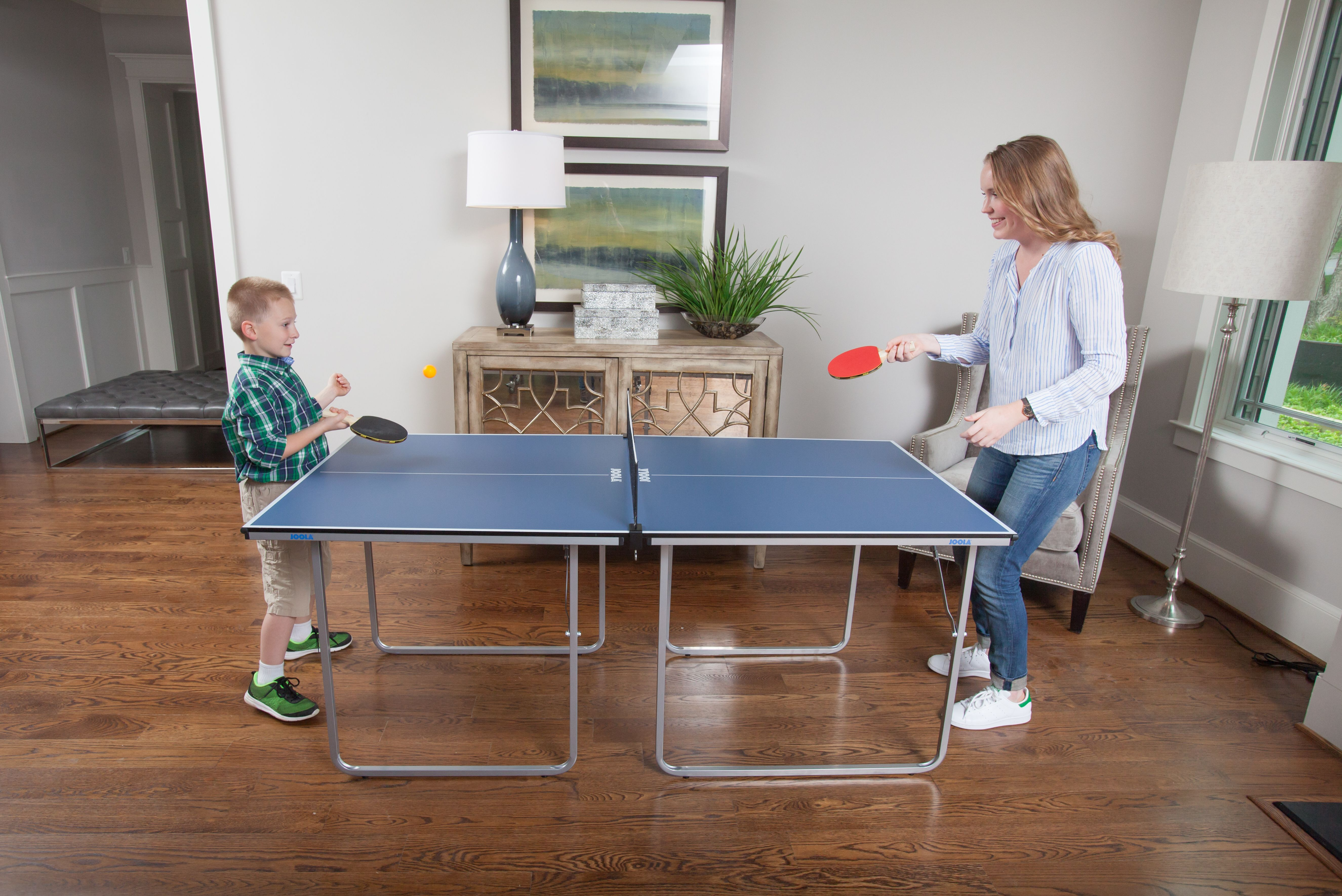 At 2 3 The Size Of A Regulation Table The Joola Midsize Table