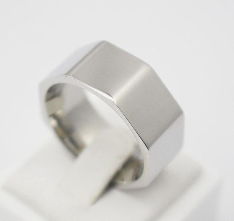 Mutter Finger Ring Edelstahl Ring Frauen Modeschmuck Ring Beste geschenk breite silber unregelmäßige ring für frauen(China (Mainland))