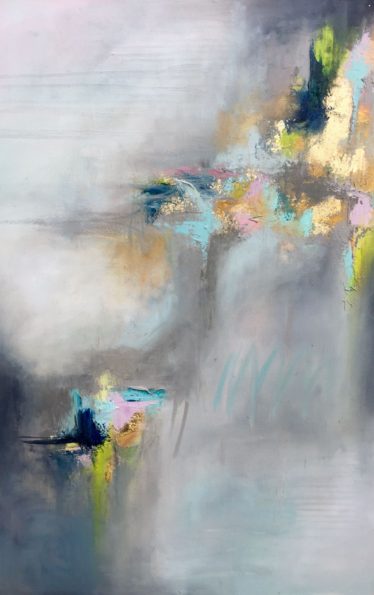 Abstract painting by Blaire Wheeler www.blairewheelerart