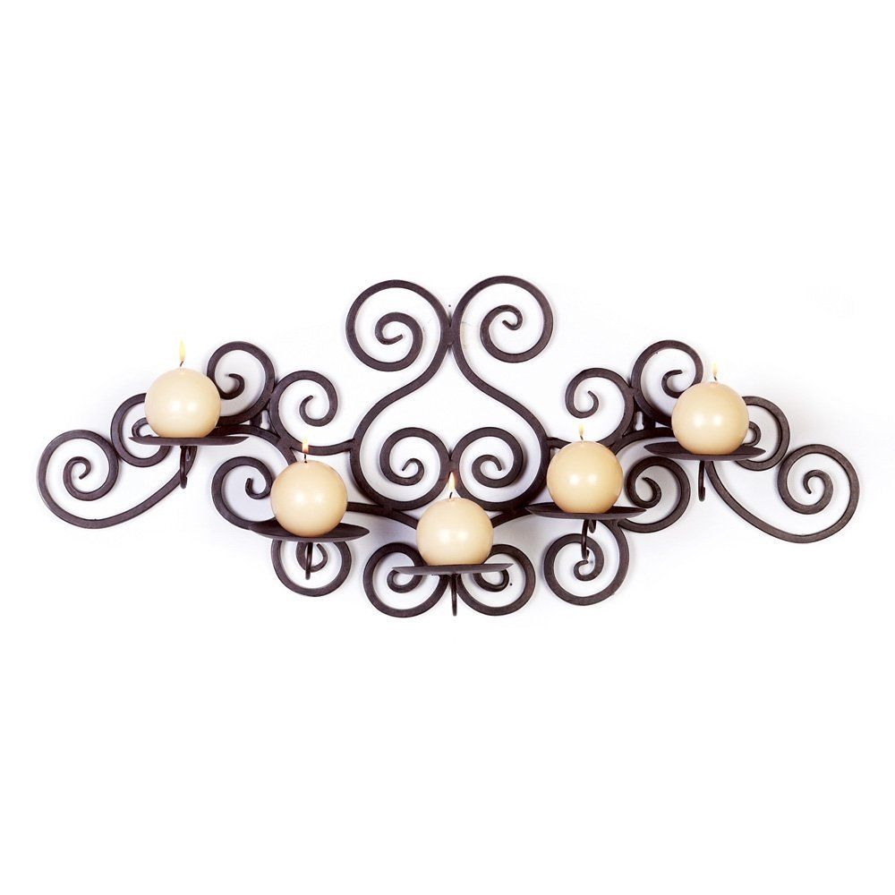 Gifts u decor scroll work candle holder for yupurl