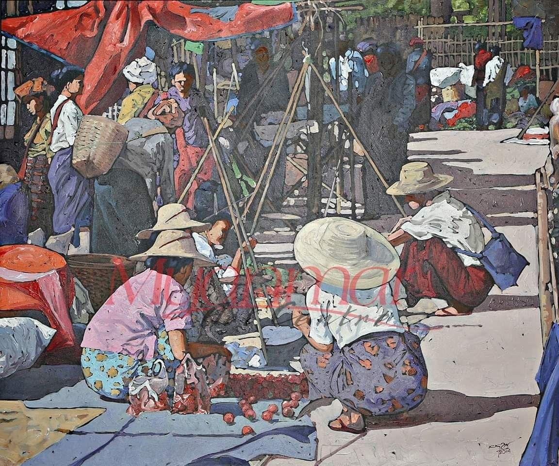 myanmar myanmarart traditionalart art (For Further