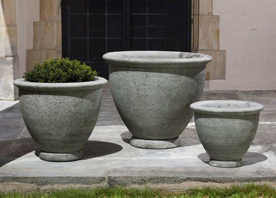 Berkeley Cast Stone Large Planter Made By Campania International