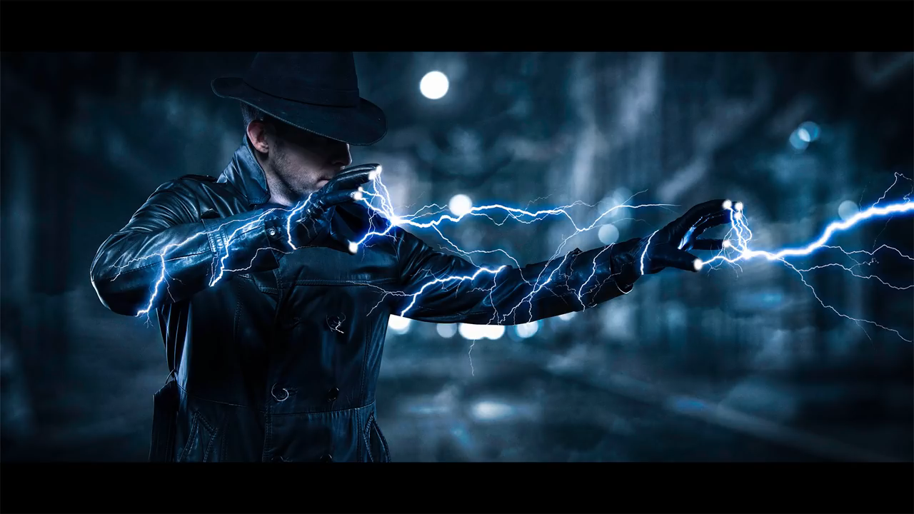 How To Create Lightning Effect In Adobe Photoshop Tutorials Electricity Action Full Hd Graphic Design Tutorial Video