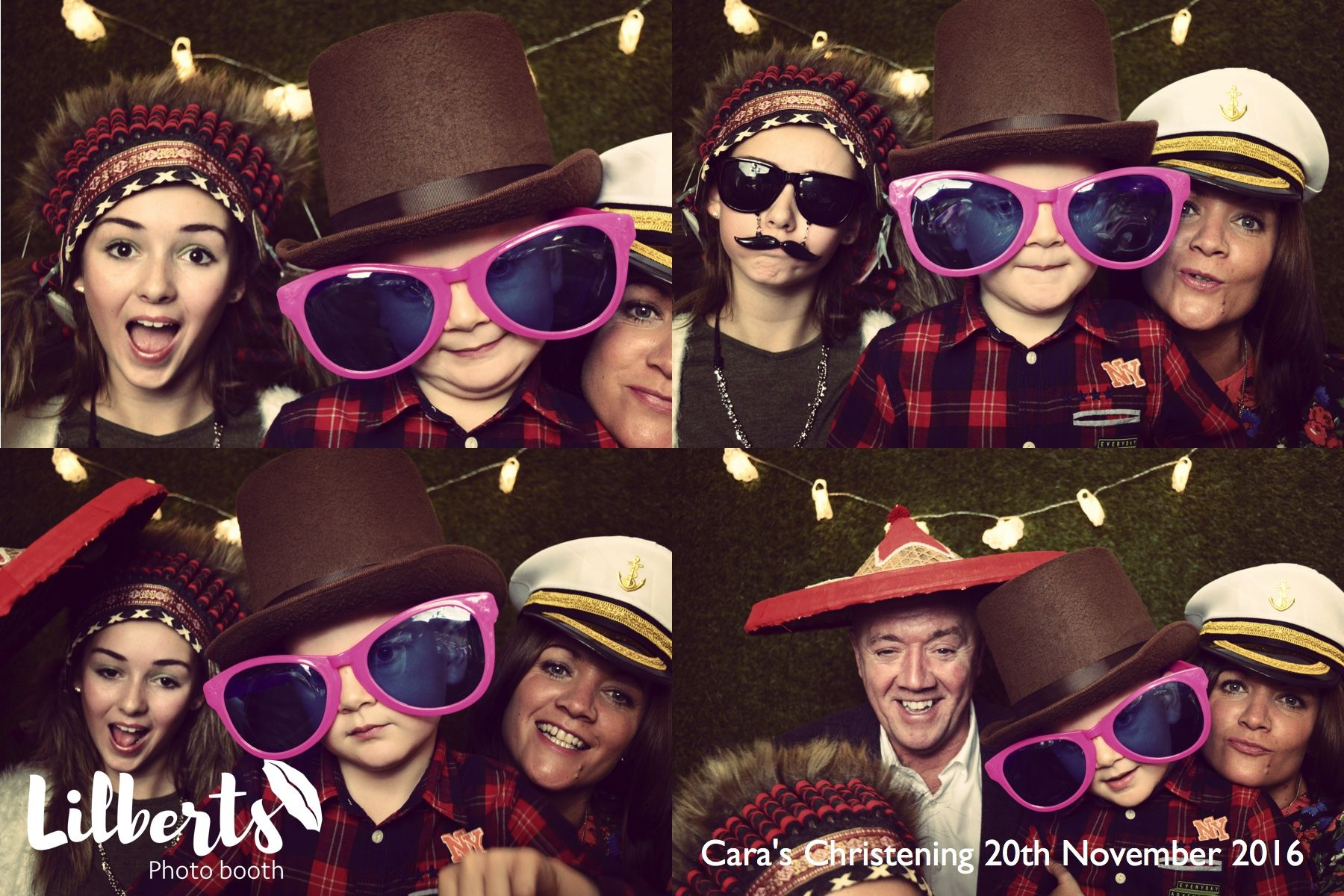 What fab props!! Open Air Photo Booth Open air photo