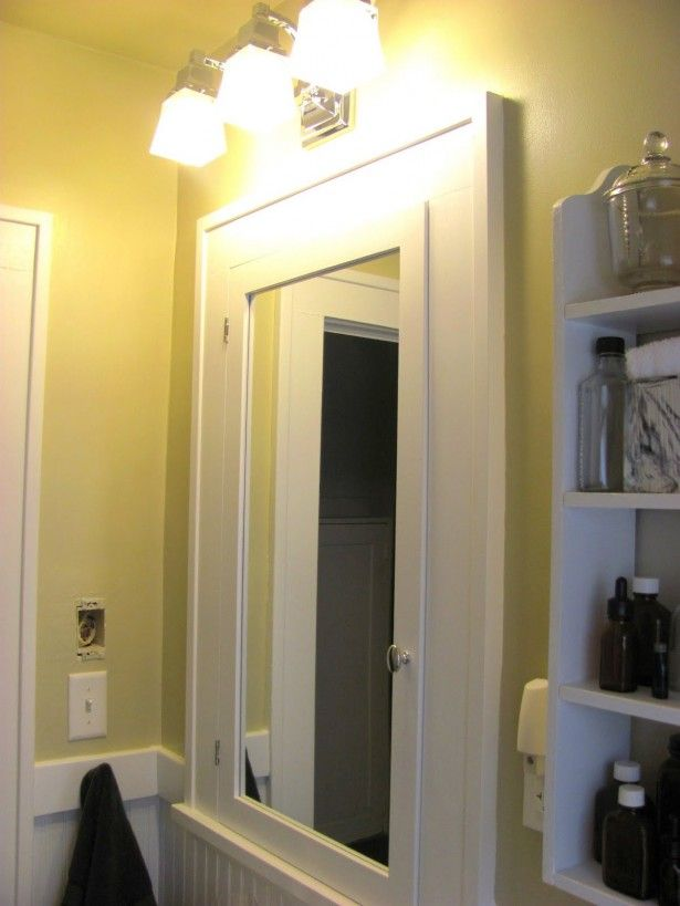 I Like The Double Vanity Medicine Cabinet Light Look Bathroom