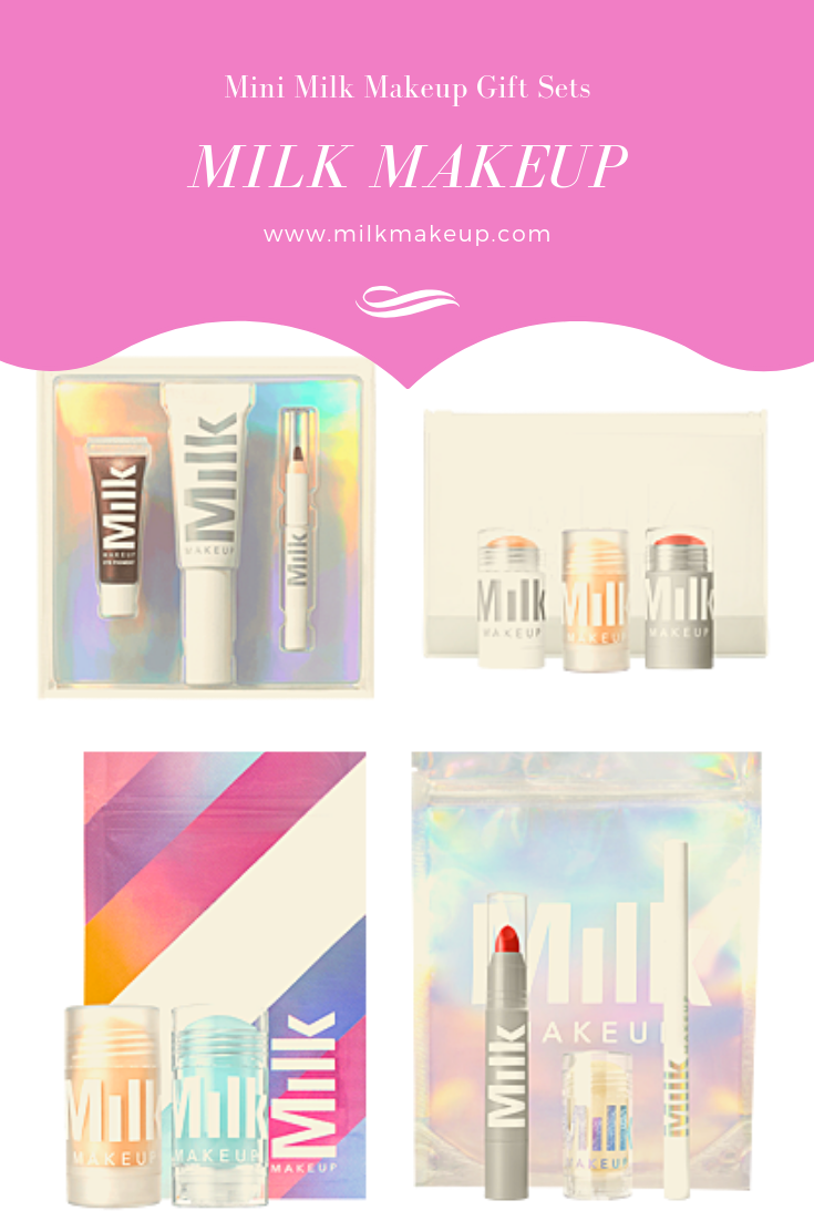 Milk Make up mini sets are great gift ideas for the l make