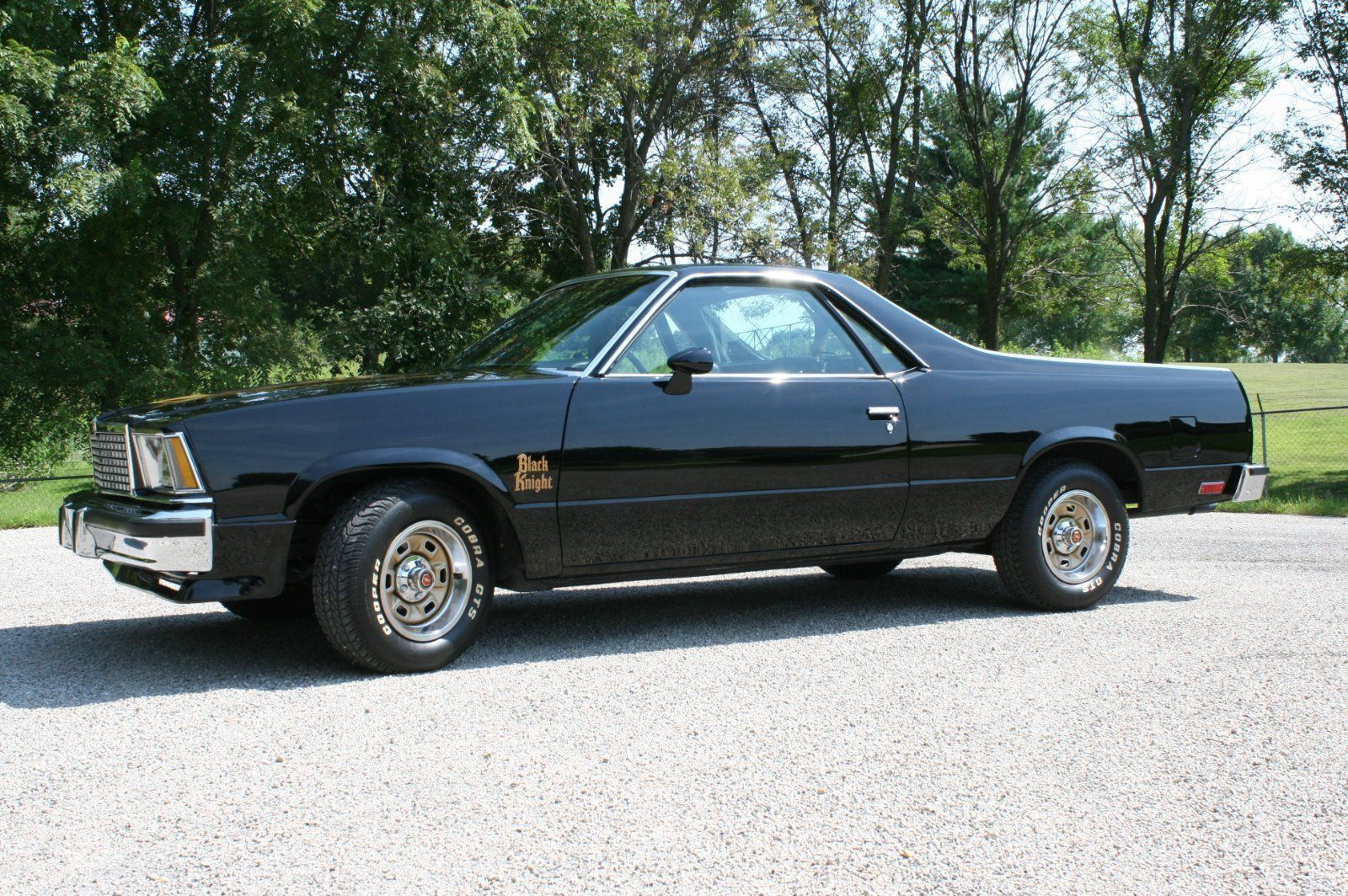 Black Knight Clone 1978 Chevrolet El Camino Pickup Chevrolet El