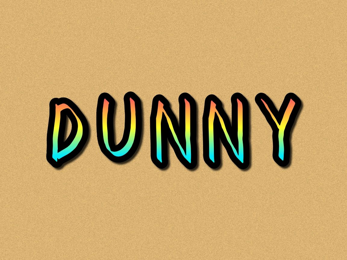 Dunny Is A Casual Fun Display Font Get Inspired By Its Friendly Feel And Use It To Create Gorgeous Wedding
