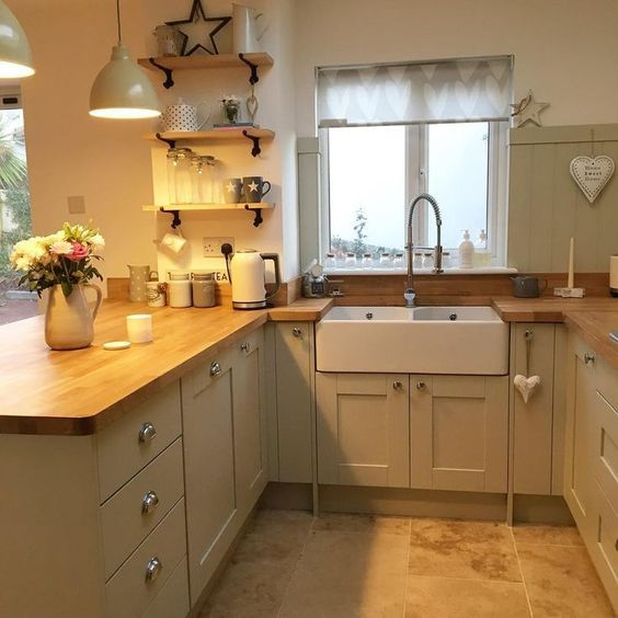 Image Result For Stonefield Stone Pull Out Larder B Q Small Cottage Kitchen Kitchen Design Cottage Style Kitchen
