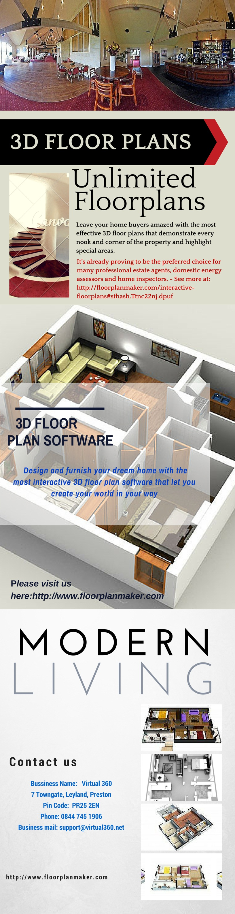 Leave your home buyers amazed with the most effective 3D floor plans ...