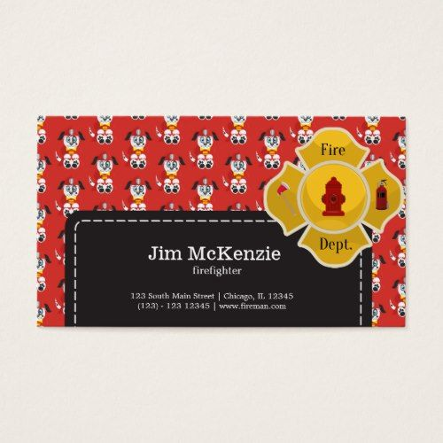 Firefighter business card firefighter and business cards firefighter business card colourmoves