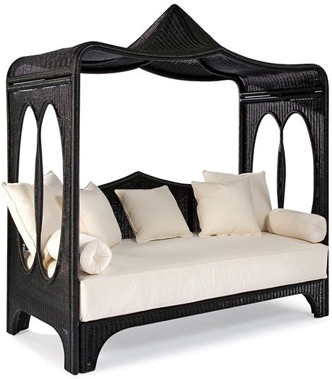 This Day Bed Is So Trendy! It Looks More Exterior But Could Be Used In
